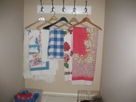 Vintage tableclothes