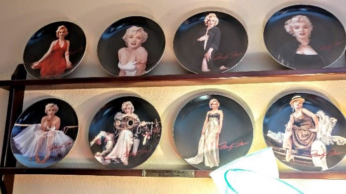 Marilyn Monroe collector plates
