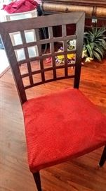 Dining chair with removable cover