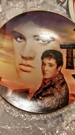 Elvis collector plate