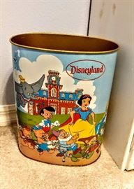 Vintage Disneyland trash can