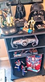 Star Wars collector pieces