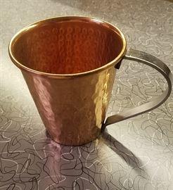 Large Copper vintage Moscow Mule mug