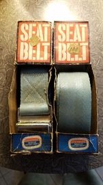 "pair of ""new"" vintage aftermarket seat belts!"