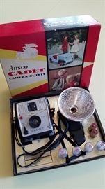 "Vintage camera ""new in box"""