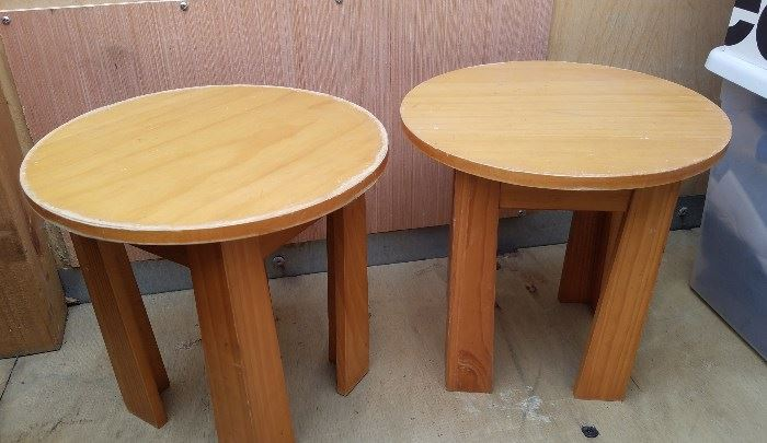 children's stools/potted plant stands