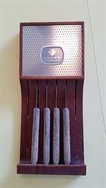 Flint knife set
