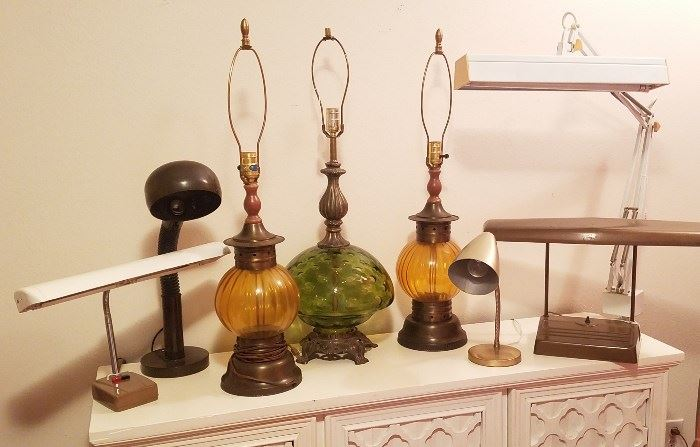 More table lamps and outstanding desk lamps too!