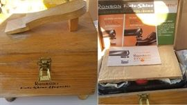 very cool Shoe Shine kit - never been used