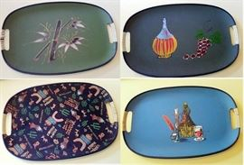 wow - very cool vintage serving trays