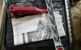 Portable tile saw - with owner's manual