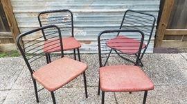 Cosco ladder back folding chair set