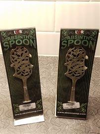 Absinth sugar spoons (Prague)