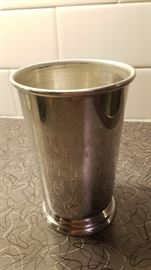 Makers Mark mint julep tin cup
