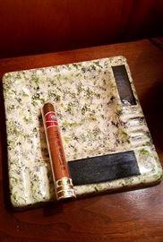 Vintage ceramic Cigar ashtray
