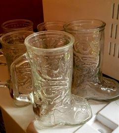 cowboy boot mug collection