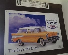 '57 Chevy Nomad Tin Sign