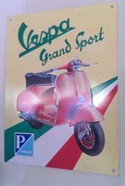 Vespa GS 150 Tin Sign