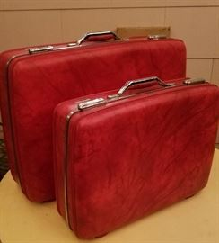 Luggage - including vintage suitcases