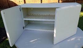 American Brand Vintage Metal kitchen cabinets (Over refrigerator)