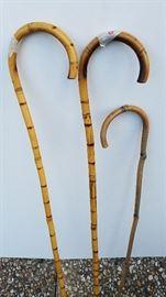 decorative bamboo canes