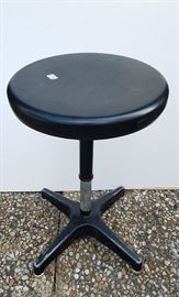 Vintage swivel stool with star base