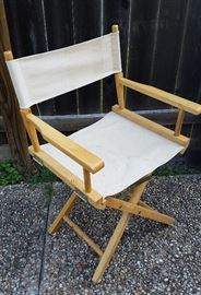 Nice collapsible director's chair
