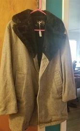 vintage women's coat