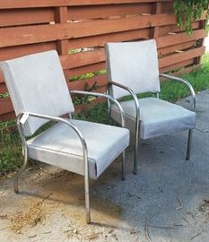 Deco waiting room chairs