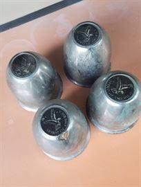 Centerline hot rod wheel bullet caps