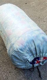 one-owner 1970s Stars-n-Stripes sleeping bag