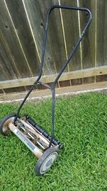 low emission lawn mower