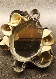 ceramic vanity mirror