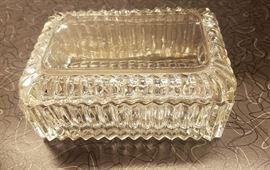 crystal candy jar
