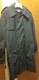 Military rain coat