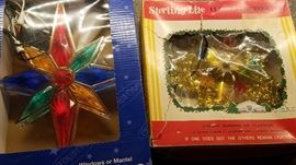 vintage and retro Xmas tree toppers