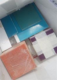 more vintage tile remnants