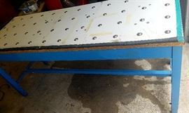 Large production table (ball bearings for rolling things down the assembly line)