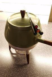 Famous Danish fondue set