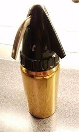 Brass seltzer bottle