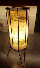 hairpin leg nightstand lamp