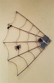 Gemstone spiderweb