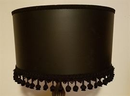 Lace black lampshade