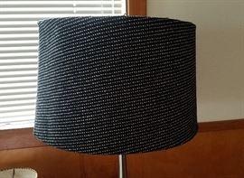 black tweed lampshade