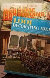 "1960's home ""design"" magazines"