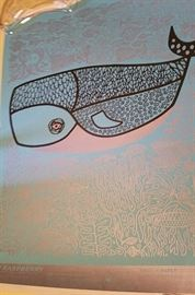 limited edition silkscreened poster