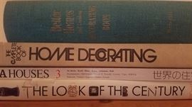 cool design/decorating, vintage, style books