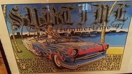 Sublime feat Snoop Dogg, Refugees, and Pharcyde poster 1997 (signed by artist)