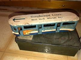 1939 Worlds Fair Greyhound Bus