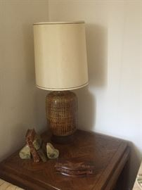 One of several Mid-Century lamps.